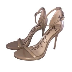 Sam Edelman Ariella Ankle Strap Sandal Nude